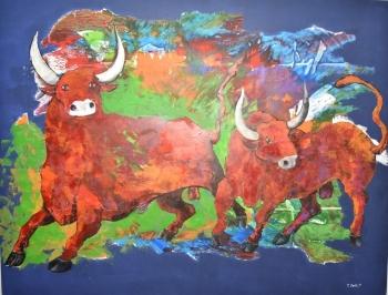 Exhibition of 86 artworks of Kazakh artists showing at NEU (5)