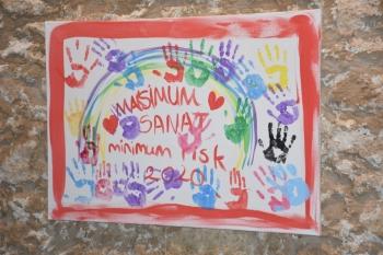 """""""Maximum Art, Minimum Risk Art Camp 2020"""" exhibition (4)"""