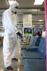 Ercan Airport Coronavirus control (4)