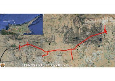 lefkoşa-kuzey-çevre-yolu_harİta