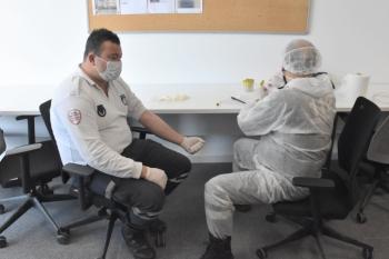 COVID-19 testing by Girne Municipality 1