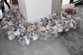 Donation of food parcels to Girne Municipality (4)