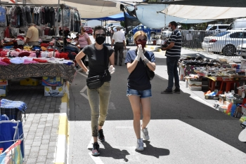 Girne Municipality Open Market precautions to safeguard citizens (5)