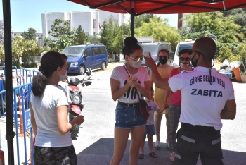 Girne Municipality Open Market precautions to safeguard citizens (7)