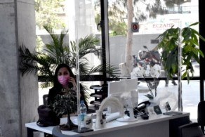 Covid-19 measures being taken in Girne Municipality city hall (3)