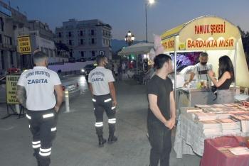 Girne Zabita patrolling Girne harbour area (2)