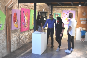 The Pandemic in Art exhibition opened in Girne (5)