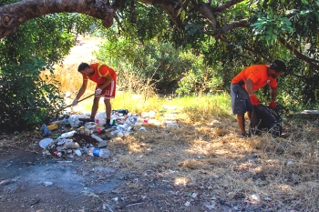 Bogazkoy picnic area cleaning (2)
