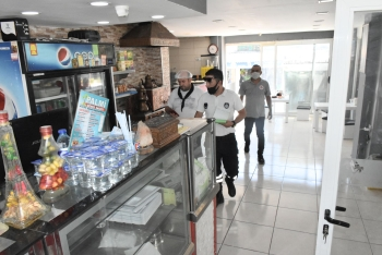 Food Inspections and Covid-19 Controls Continue in Girne Municipality (5)