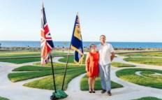 Dave Horsfall and Jill Bell