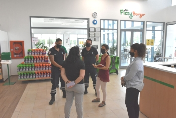 Girne Municipality and Girne District Governorship Inspected Markets and Cafes (1)
