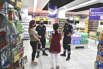 Girne Municipality and Girne District Governorship Inspected Markets and Cafes (2)