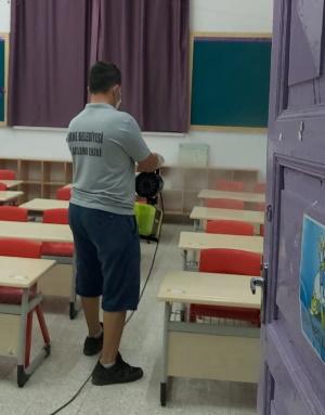 School disinfecting 2