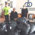 ATA donation of lue bottle caps