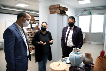 Lefkosa Mayor visit to ARUCAD (2)