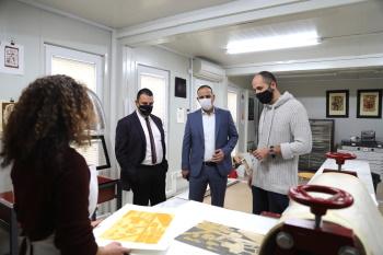Lefkosa Mayor visit to ARUCAD (6)