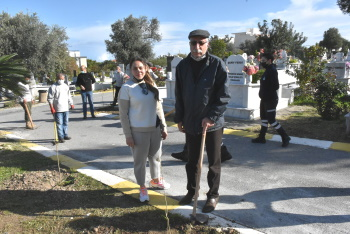 Girne Municipality Continues Tree Planting Works (4)