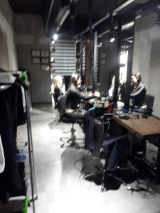 Hairdressing salon closed by Girne Municipality police (1)