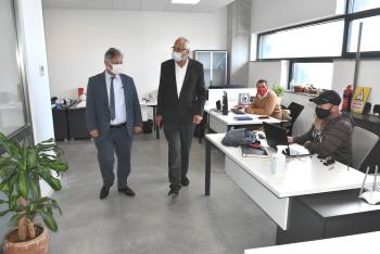 Ali Pilli visits Girne Municipality (3)