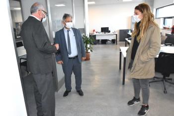 Ali Pilli visits Girne Municipality (4)