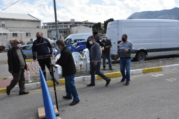 Girne Open Market opened with Covid-19 measures (2)