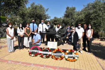 Ali Nesim of Zeytinlik was commemorated (3)