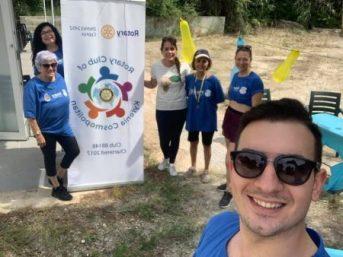 Rotary Club Kyrenia Cosmopolitain Walking event 1