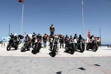 Turkish Riders Chopper Club celebrated May 19 Youth and Sports Day (3)