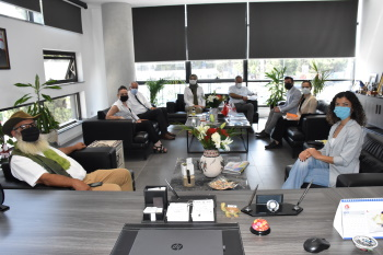 Delegation from Turkey visited the Girne Municipality (2)