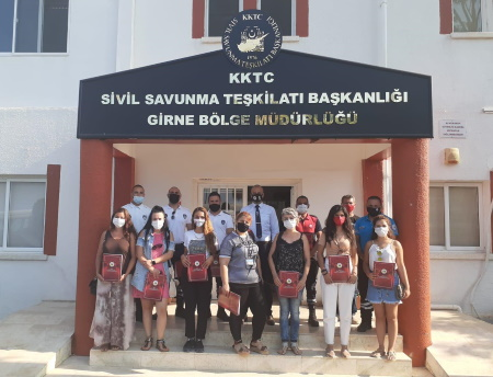 Girne Municipality had First Aid training from Girne Civil Defence (13)