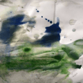Tim Brennan & Dean Brannagan – Psychic Painting #5, 2021 1
