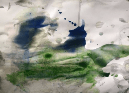 Tim Brennan & Dean Brannagan - Psychic Painting #5, 2021 1