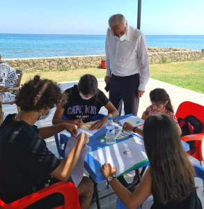 Girne Municipality summer holiday children's workshops (3)