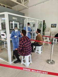 PCR Tests begin again at the Leymosun Culture Centre, Girne (2)