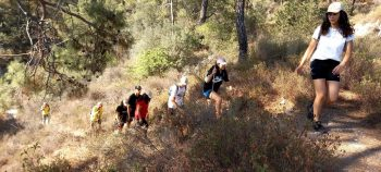 Youth Platform organızed Orienteering, Trekking and Cycling events (3)