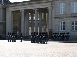 Change of guard in Amalienborg