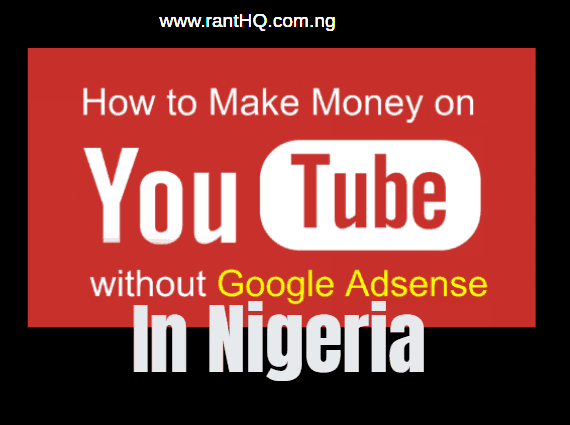 how to make money on youtube without google adsense