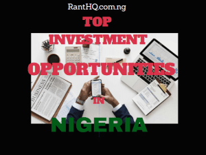 Top Investment Opportunities With High Returns In Nigeria 2021