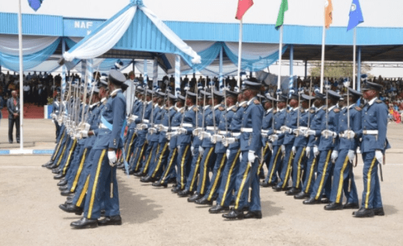 ranks in nigerian airforce