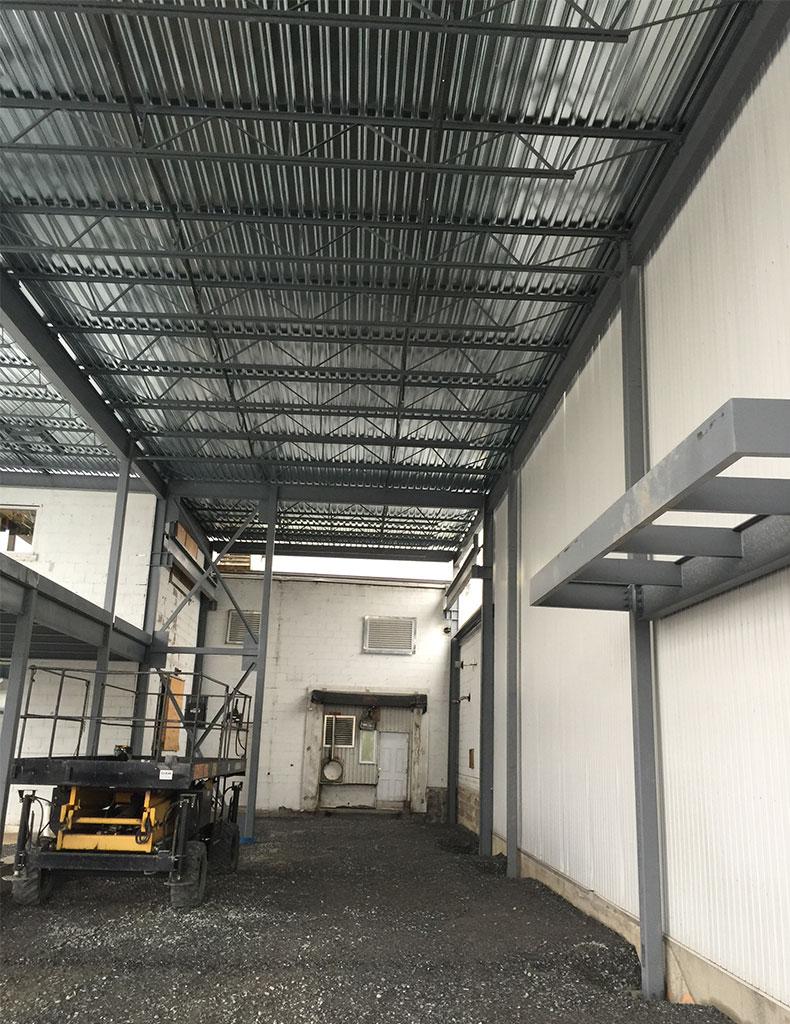 Structure acier ACAM