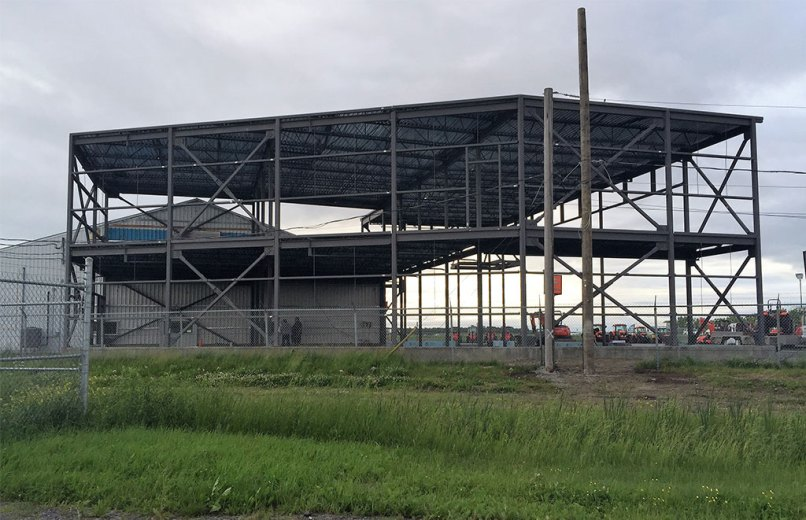 Structure Acier Kubota