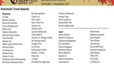 Kishimoto Travel Awards