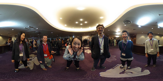 360° photos from Cytokines 2017 in Kanazawa, thanks Hiroki Yoshida