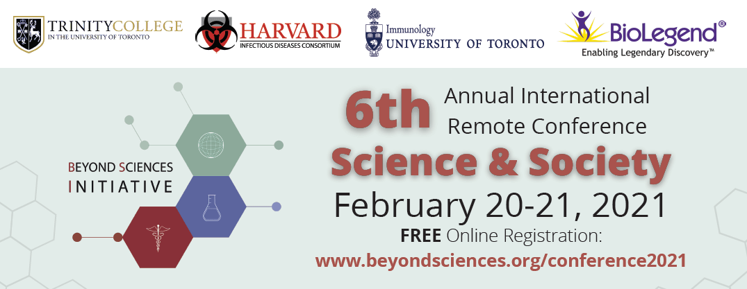 Announcing the BSI 6th Annual Remote Conference: Science & Society – Abstract deadline is November 27, 2020