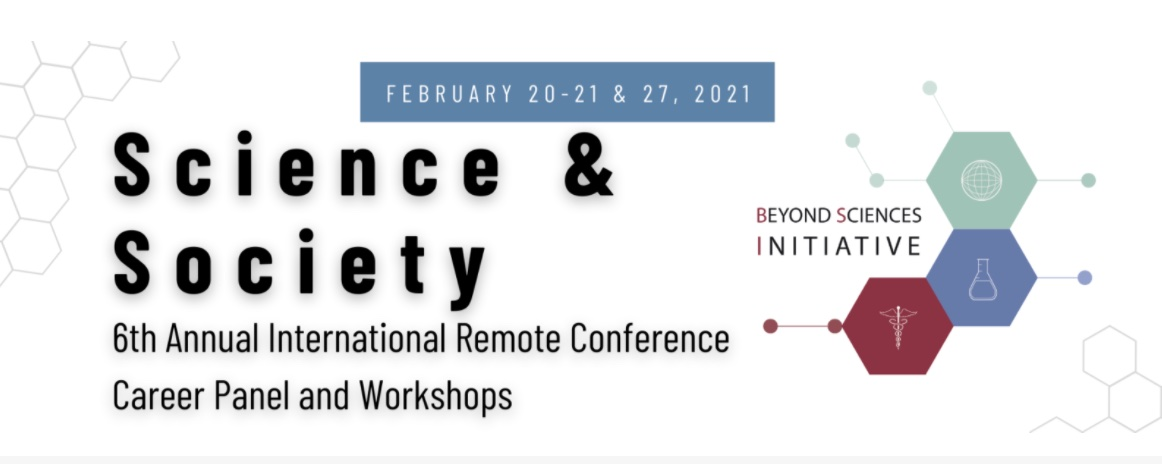 The BSI 6th Annual Remote Conference: Science & Society – Begins TODAY!