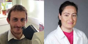 Специалисты по ветеринарной клинической патологии Francesco Cian и Paola Monti