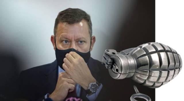Dag Daniš: Inšpekcia práve odistila granát. Priamo pod Lipšicom