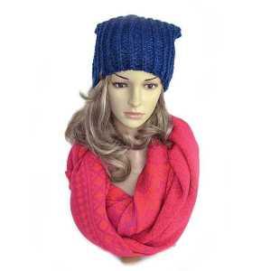 czapka-damska-zimowa-granatowa