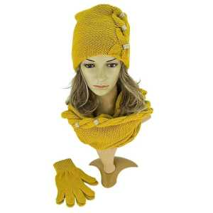 komplet-damski-na-zime-czapka-z-kominem-rekawiczki-w-duze-warkocze -producen