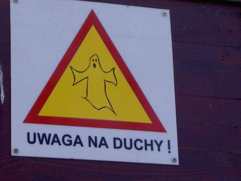 Uwaga na duchy